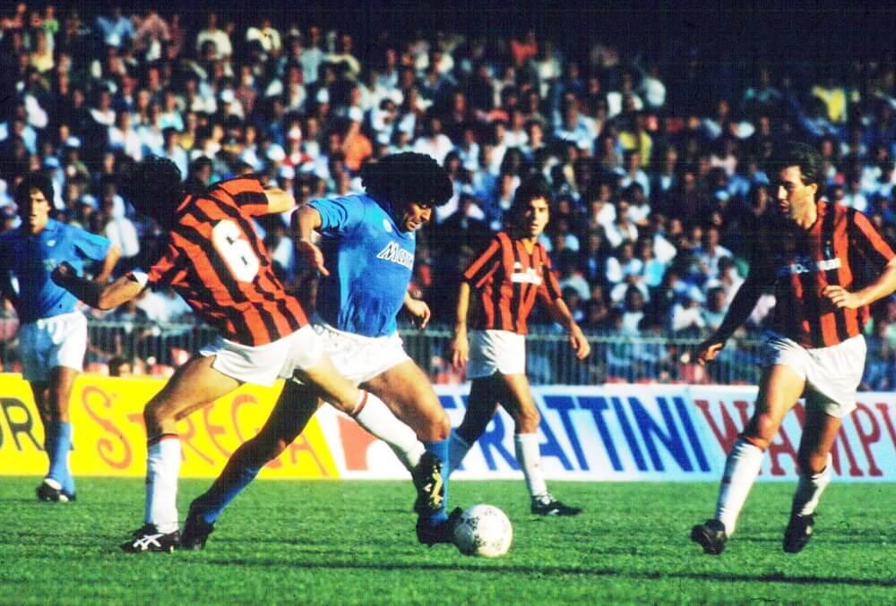 Νάπολι και Μίλαν, Serie A, 1987-88. Το scudettο της Μαφίας