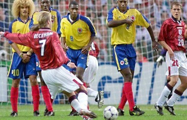 Κολομβία – Αγγλία. Θύμησες 1998 και Μπέκαμ