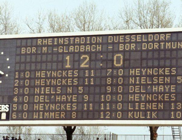 Γκλάντμπαχ - Ντόρτμουντ. Το 12-0 (!) του 1978 και η εφιάλτης του Ρεχάγκελ