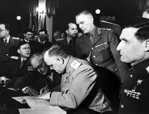Ο Β' Παγκόσμιος Πόλεμος τελείωσε δύο φορές