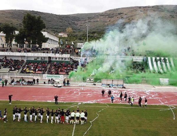 Παίζοντας Football Manager με Γραμμόζη στον Παναργειακό…