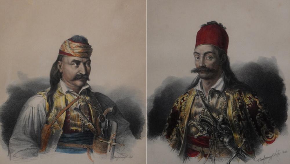 Σε αυτόν οφείλουμε την εικόνα των ηρώων του 1821