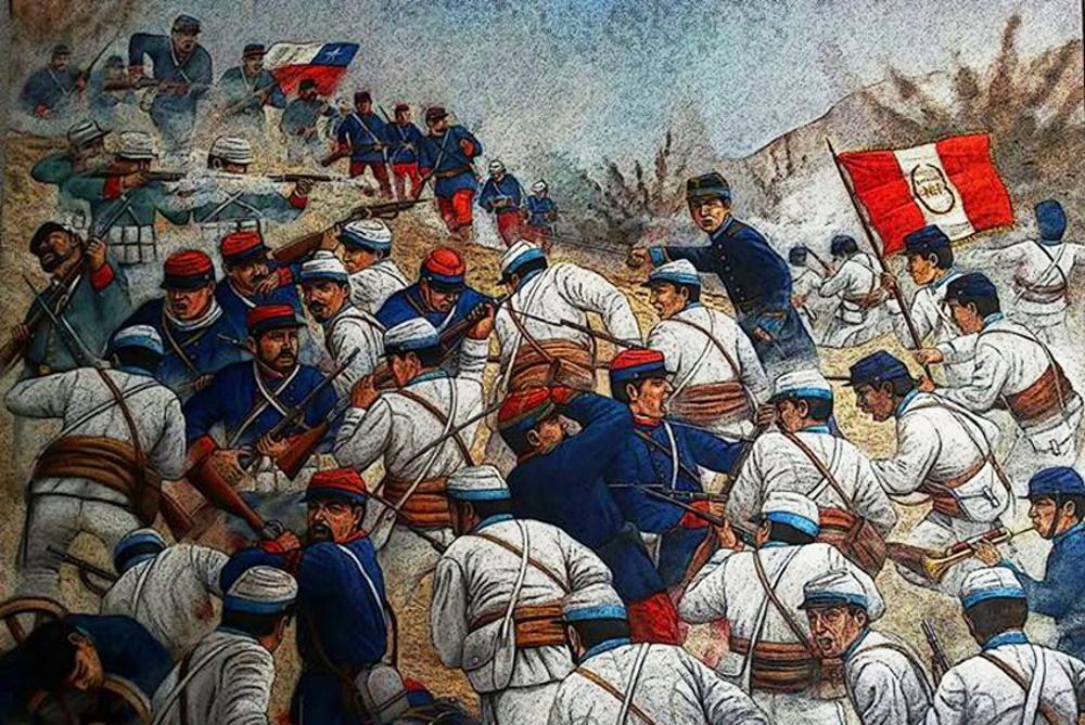 Χιλή – Περού. Η ιστορία του Guerra del Pacífico