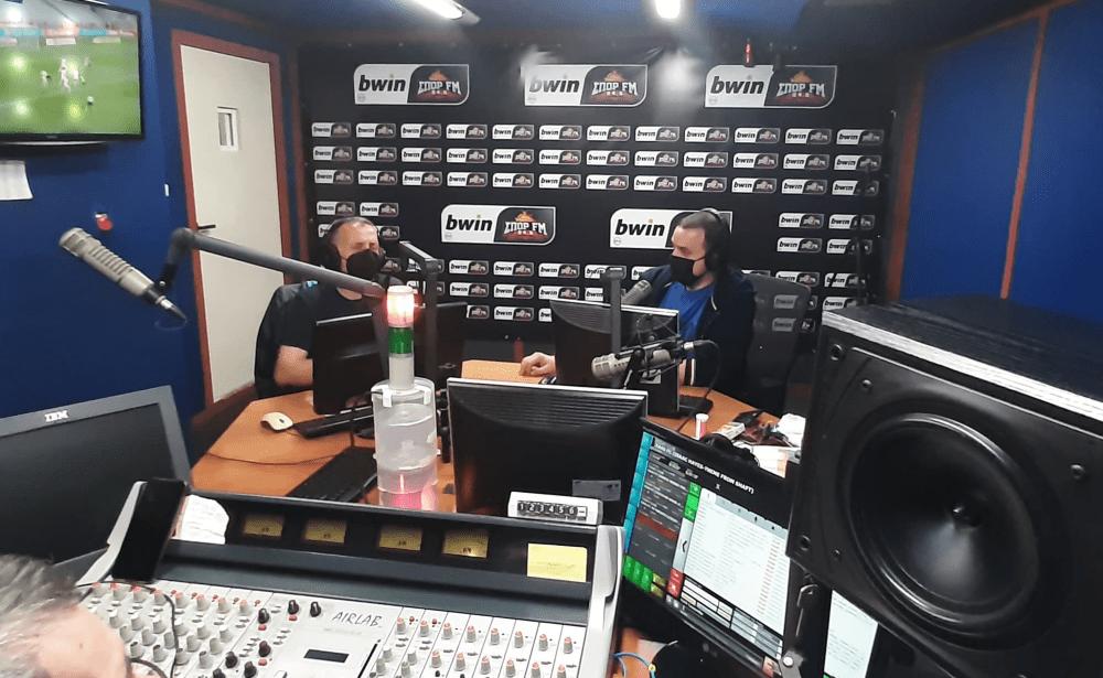 Καλεσμένος στο «Fight Club» του Σπορ FM
