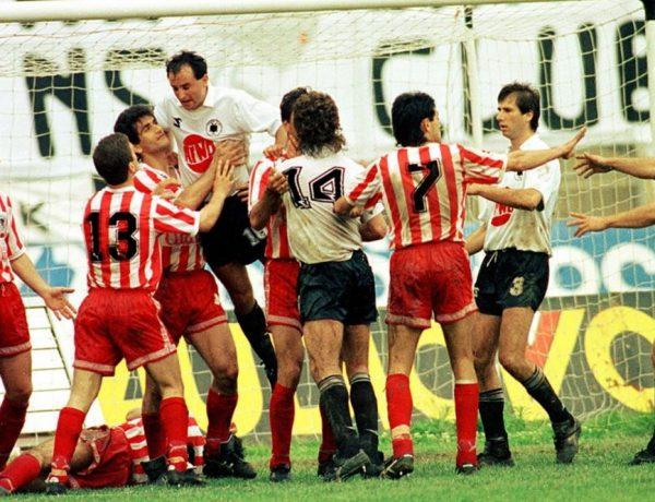 Ολυμπιακός – ΠΑΟΚ. Οι άλλοι επτά τελικοί και το ξύλο στο μόνο διπλό, στο ΟΑΚΑ, το 1988…