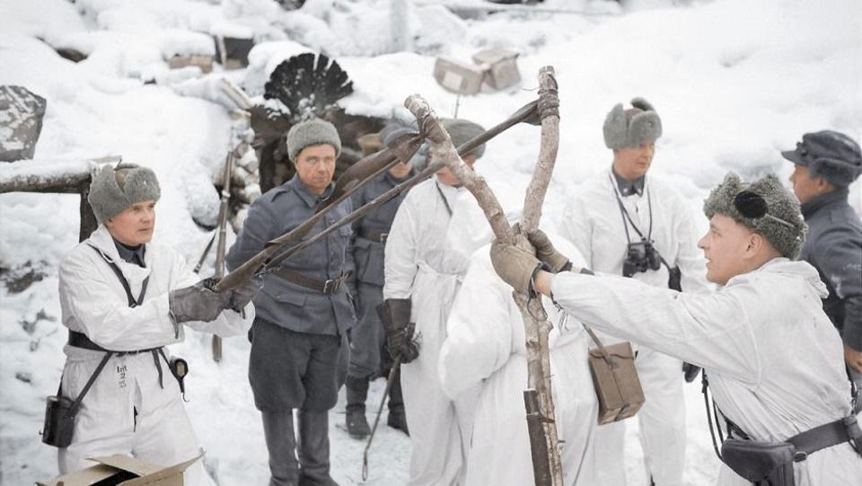 Ο… Μολότοφ που χωρίζει τις Φινλανδία και Ρωσία