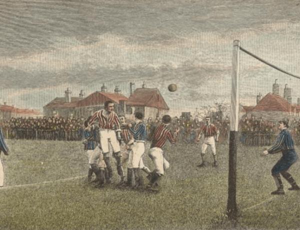 Ο πρώτος επίσημος αγγλικός αγώνας ποδοσφαίρου ήταν το 1888