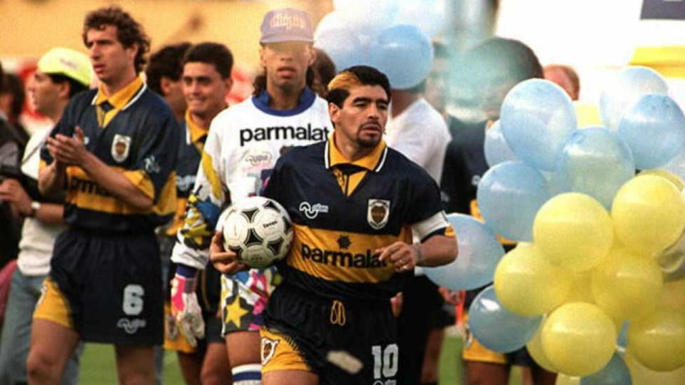Η επιστροφή του Μαραντόνα το 1995